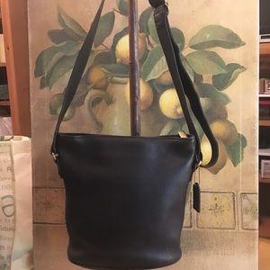 Coach Vintage Black Duffle Bag Shoulderbag